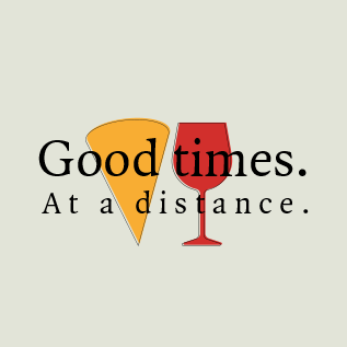'Good times. At a distance' image